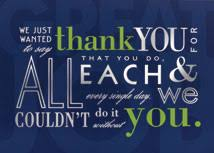 thank you cards card website