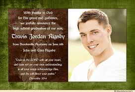 high school graduation announcement wording photo christian graduation announcement homeschool cross 2017