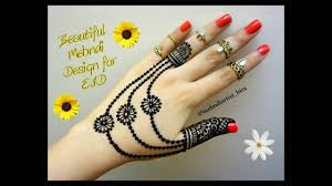 eid 2017 special mehndi design easy latest best jewellery