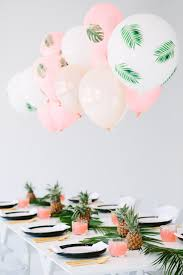 Paper Pineapple Decorations 10 Cool Summer Party Themes That Any Kid Will Love Palms