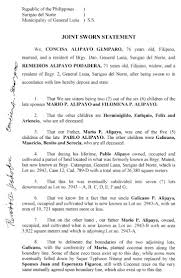 signed affidavit template remittance template excel how to make