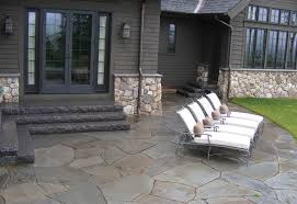 Irregular Stone Patio Walkways U0026 Patios Swenson American Granite Products