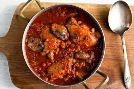 chicken cacciatore with mushrooms tomatoes and wine recipe nyt