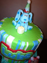 blue u0027s clues birthday cake cakecentral com