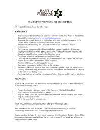 Caregiver Job Description Resume Subway Job Description Resume 20 Uxhandy Com How To Write A