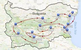 Map Of Bulgaria Unesco Grand Tour U201cthe Best Of Bulgaria U201d