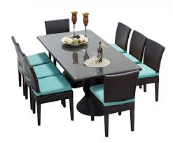 8 seat patio table saturn rectangular outdoor custom 8 chair patio dining set home