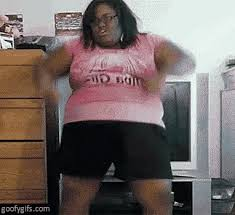 Fat Black Girl Meme - black lady gifs tenor
