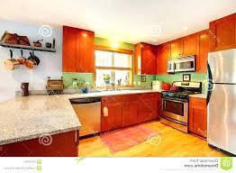 deco interieur cuisine interieur de la maison du pere noel deco cuisine orange jaune et