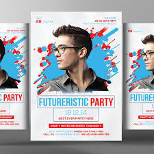 electro flyer poster templates abstract bundle limpo arquivo