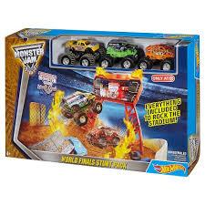 wheels monster truck jam wheels monster jam world finals stunt pack play set target
