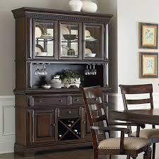 charleston buffet w hutch china cabinets and curios dining