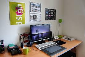 Modern Pc Desk by Designer Desk Setup Pesquisa Google Work Space Pinterest