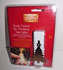 on touch for tree lights new brass ornament