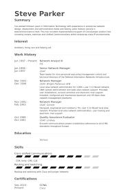 Ccna Resume Examples by Network Analyst Resume Samples Visualcv Resume Samples Database