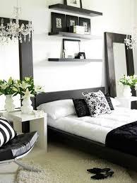 chambre noir et blanc design deco chambre et blanche