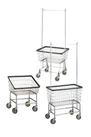 Ideas For Laundry Carts On Wheels Design Genial Wheels Primitive Country Farm Decor