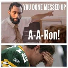 You Ve Done Messed Up - packer fans listen up y all revis is our top cornerback he s shut
