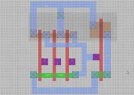 layout design cmos design for cmos 3 input nand gate