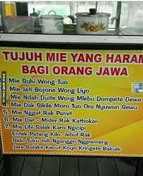 Meme Comic Jawa - mie haram bagi orang jawa kiriman ida meme comic indonesia