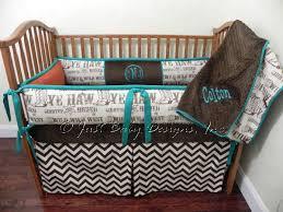 Western Baby Crib Bedding Custom Baby Bedding Set Colton Boy Baby Bedding Western