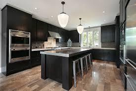 Wooden Tables And Chairs Corner White Chalk Paint Dark Kitchen - Dark kitchen cabinets