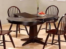 Round Dining Room Table With Leaf Black Round Dining Room Table With Leaf Starrkingschool