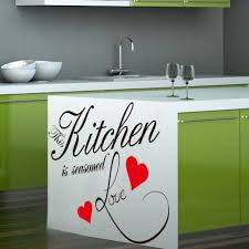online get cheap vinyl kitchen quotes aliexpress com alibaba group 2016 limited new quote vinyl art wall stickers kitchen decor heart decoration word letters decal window