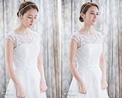 wedding dress drama korea han hye jin in a wedding dress see through top news
