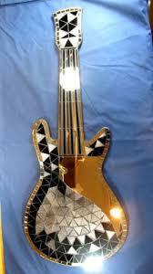 Guitar Home Decor 251 Best Guitars Mosaic Images On Pinterest Mosaic Art Guitar