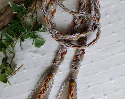 fasting cord rustic fasting cord folk style choose charm