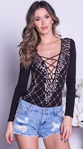 chapine black lace bodysuit with crystals dress u2013 holt