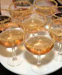 glitz and glam champagne glasses christy vega