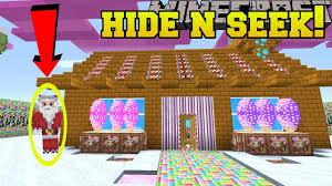 Seeking Santa Claus Episode Minecraft Santa Claus Hide And Seek Morph Hide And Seek