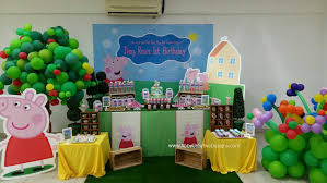 peppa pig birthday supplies theme peppa pig its more than just a party