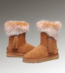 womens ugg boots fox fur 48 best ugg fox fur boots images on fur boots