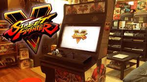 Street Fighter 3 Arcade Cabinet Street Fighter 5 Custom Arcade Cabinet Youtube