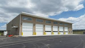 Norwood Overhead Door Cdot Norwood 6 Bay Vehicle Storage Facility Ford Construction