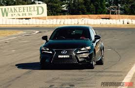 lexus is300h models lexus is 300h f sport track test can you have fun in a hybrid