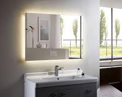 Lighted Bathroom Mirrors Lighted Bathroom Mirrors Wall Playmaxlgc