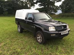 mitsubishi pickup 2005 2005 mitsubishi l200 4x4 single cab 2 5td black in blairgowrie