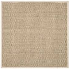 grace your living room with this natural sisal area rug by
