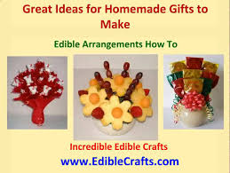 homemade gifts to make edible arrangements how to youtube