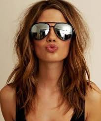 sholder length hair hair style and color for woman