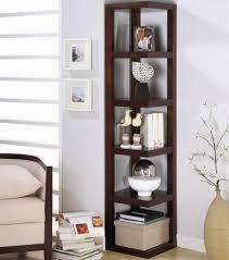 Corner Bookcase Units Contemporary Small Corner Shelving Unit Furniture Pinterest