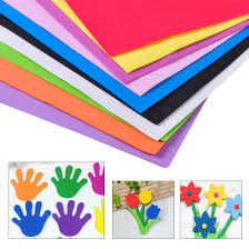 10pcs diy foam sheets a4 handmade paper fun funky children kids