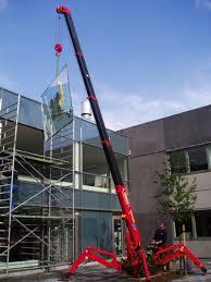 spider mini crane hire usfl group