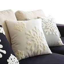 christmas pillows decorative amazon com