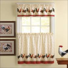 Make Kitchen Curtains by Kitchen Excellent Black And White Kitchen Curtains Picture Ideas
