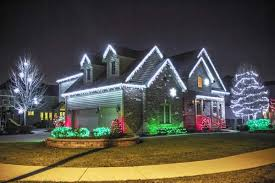 red white christmas lights top 46 outdoor christmas lighting ideas illuminate the holiday